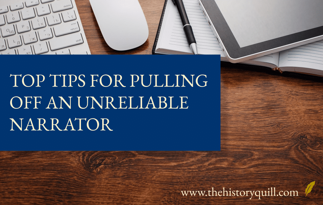 Top tips for pulling off an unreliable narrator
