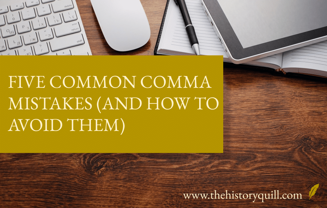 Five common comma mistakes (and how to avoid them)