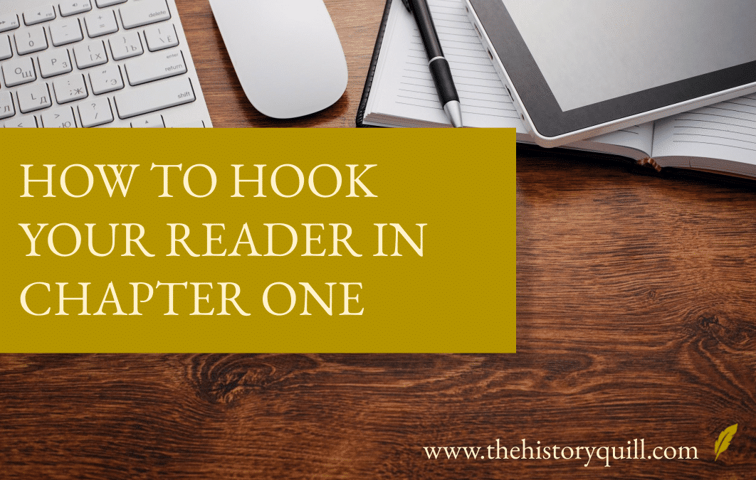 How to hook your reader in chapter one