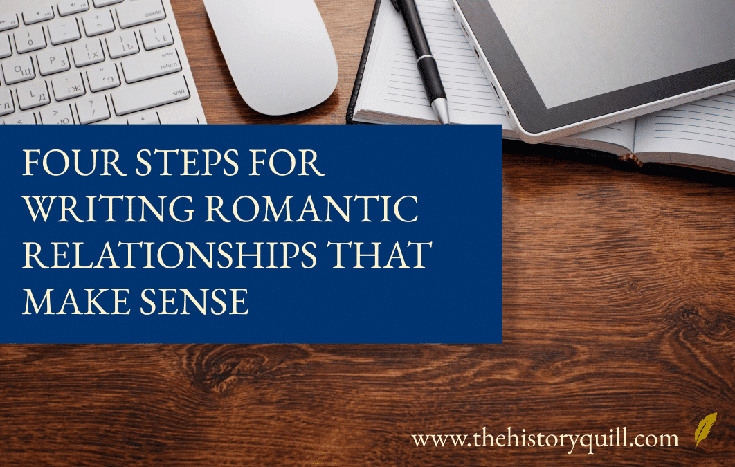 Four steps for writing romantic relationships that make sense
