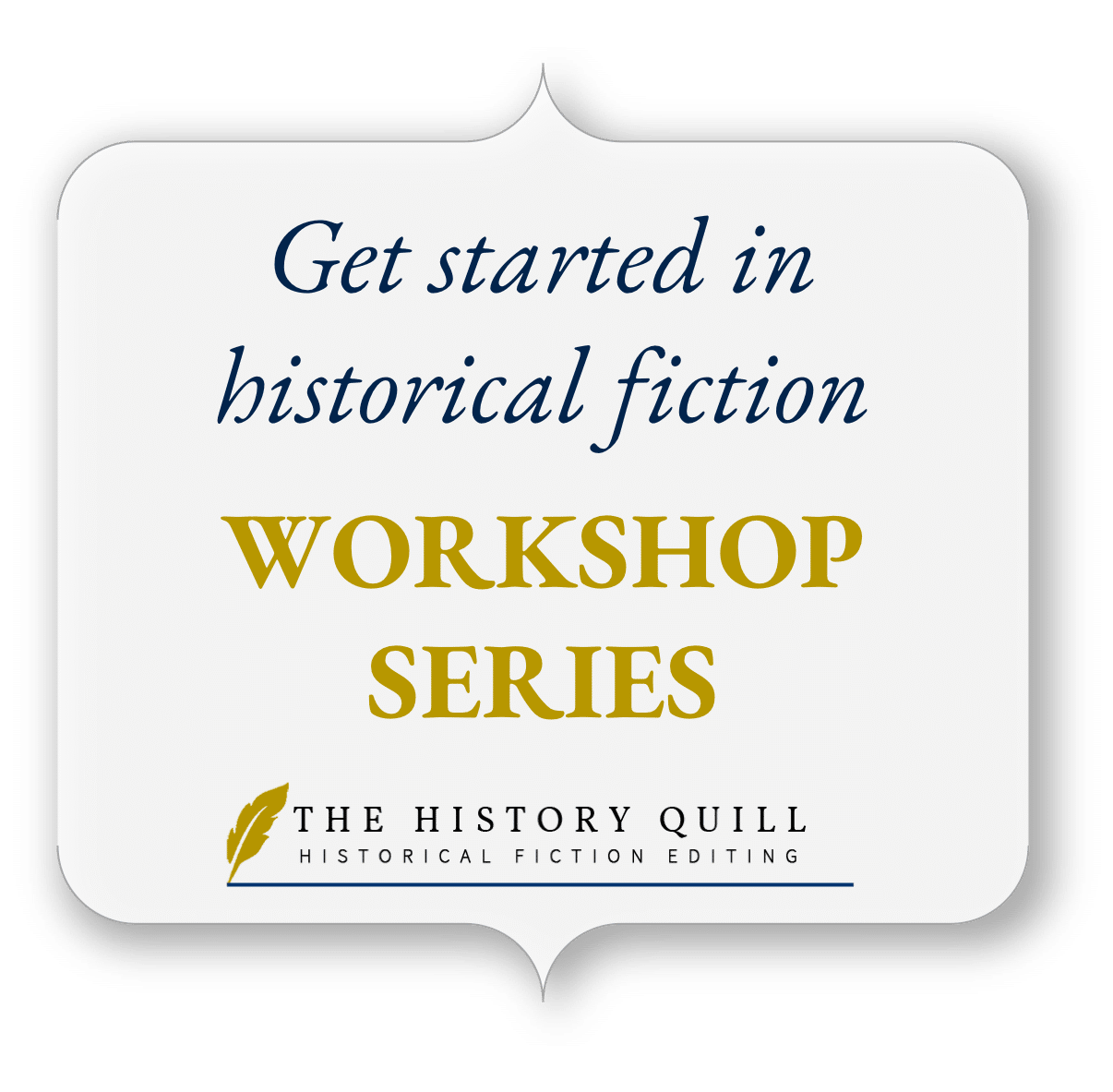 Get started in historical fiction icon
