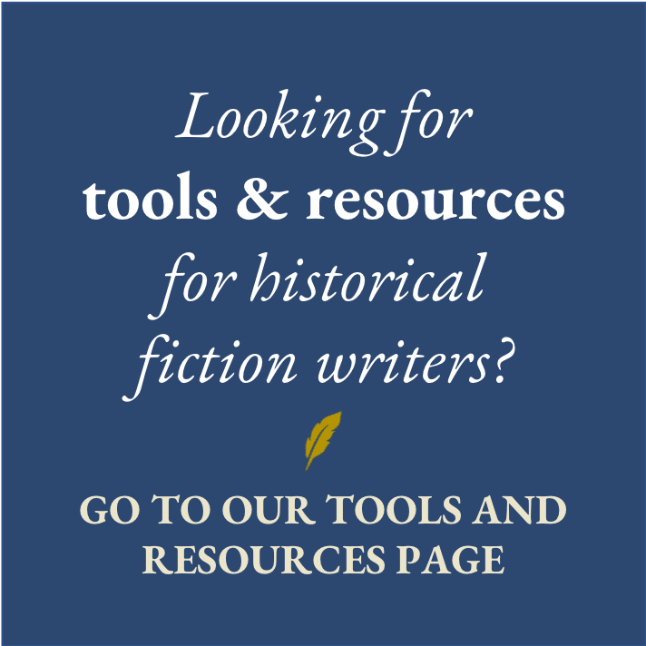 Tools and resources for historical fiction writers